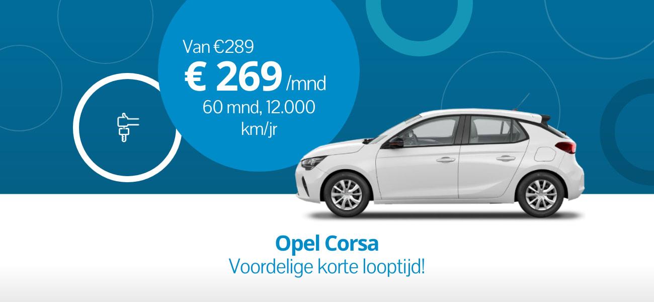 Opel Corsa - Voordelige korte looptijd