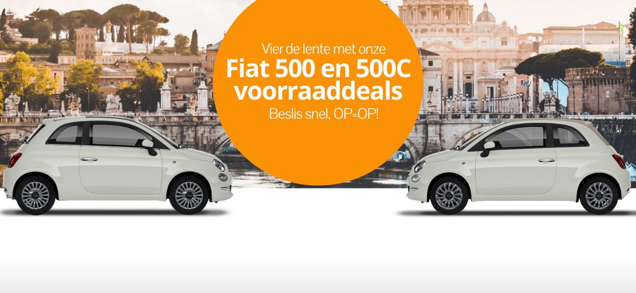 DirectLease Fiat lente voorraaddeals!