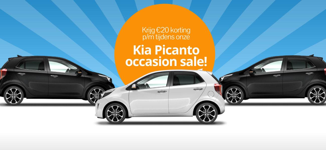 DirectLease Kia Picanto occasion sale!
