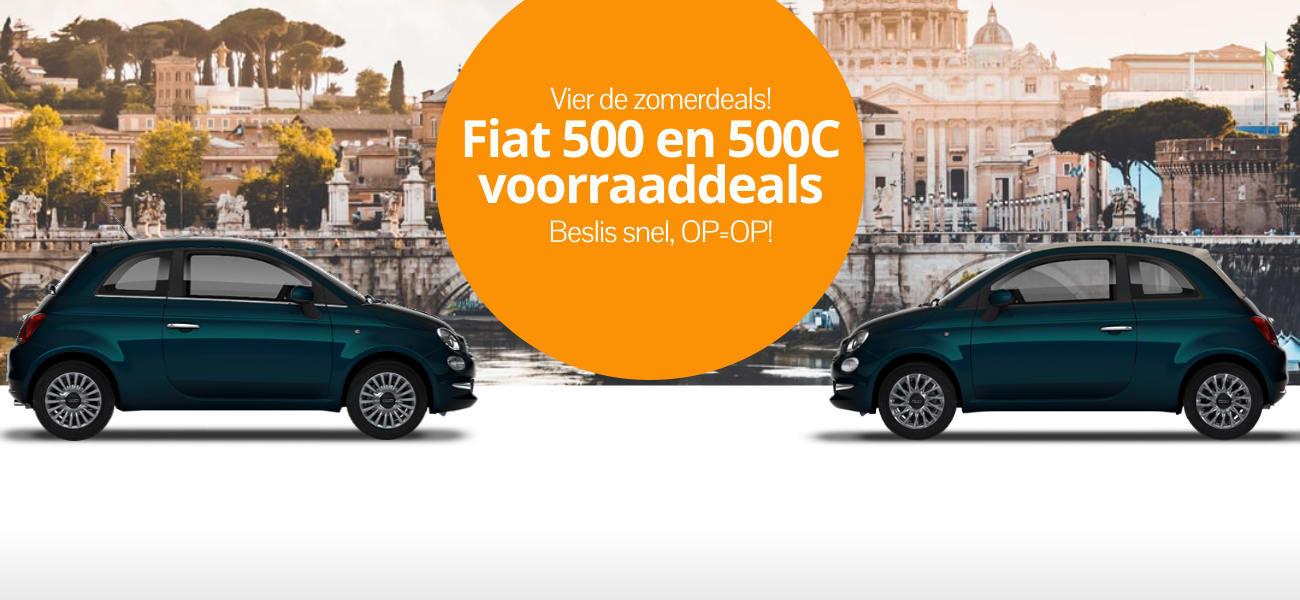 DirectLease Fiat 500 zomerdeals!