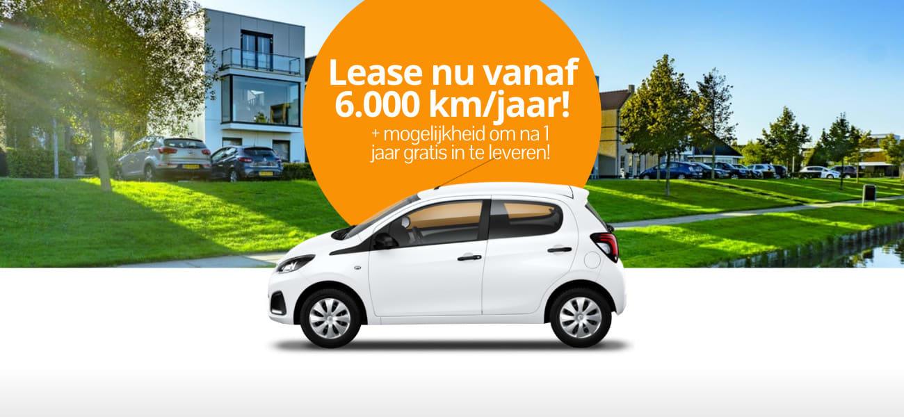 DirectLease Nieuw: leasen vanaf 6.000 km per jaar