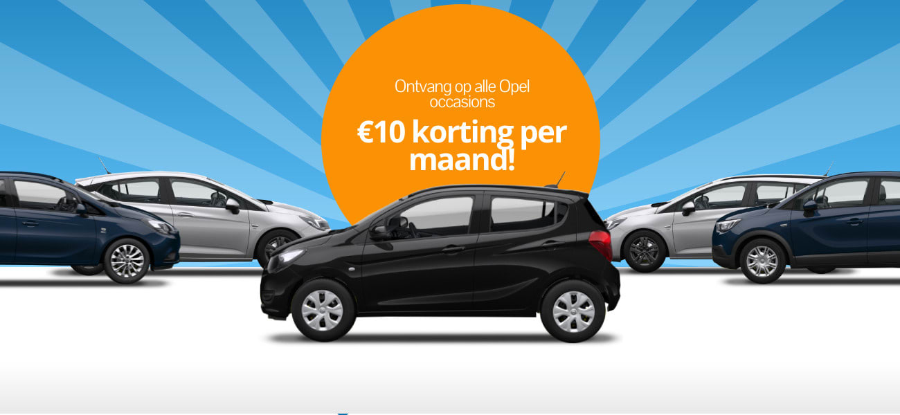DirectLease Opel occasion actie