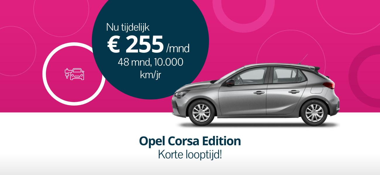 Opel Corsa Editon - korte looptijd
