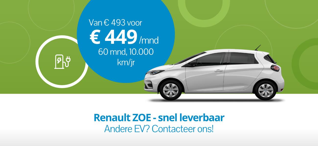 Renault ZOE - Snel leverbaar