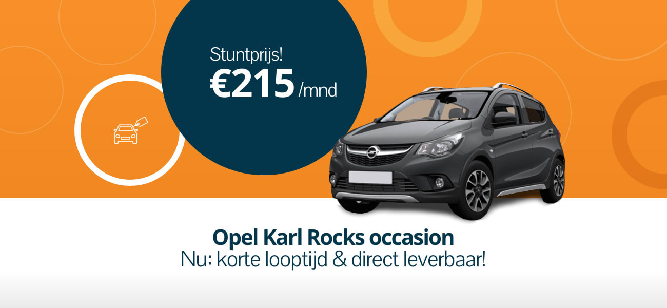 Opel Karl Rocks private lease deal