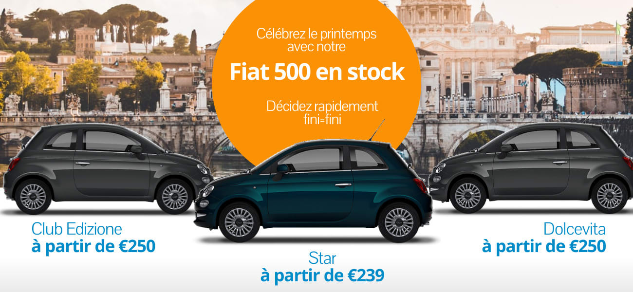 Fiat 500 voorraaddeals