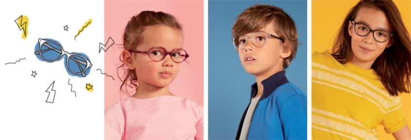Collection de lunettes pour enfants Little Acuitis
