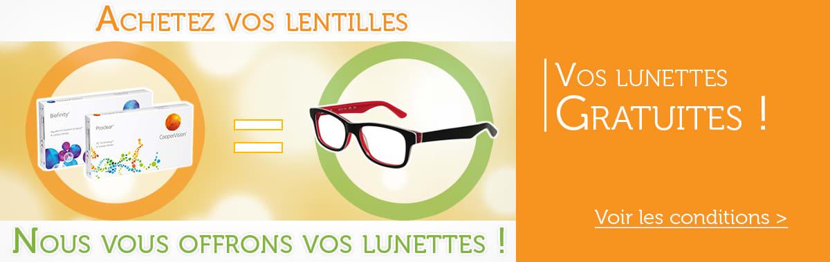 bb87438919 Changez vos verres de lunettes sur internet au meilleur prix; Vos lentilles  moins chères avec Direct Optic