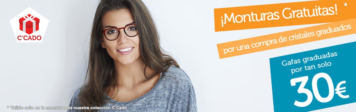 Monturas de gafas gratuitas