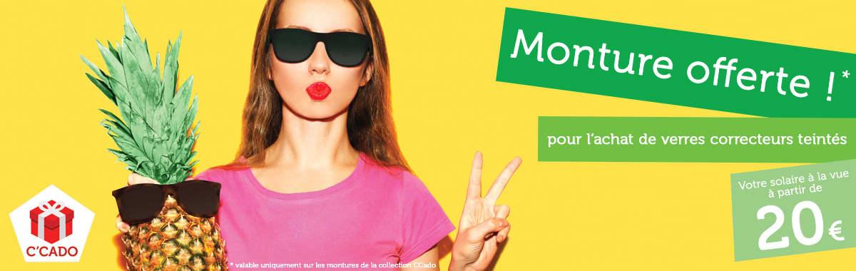 Achetez vos lunettes sur internet chez Direct optic, nous vous offrons la monture !