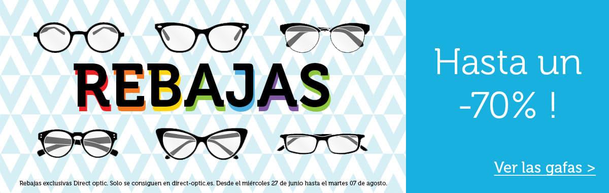 Rebajas gafas