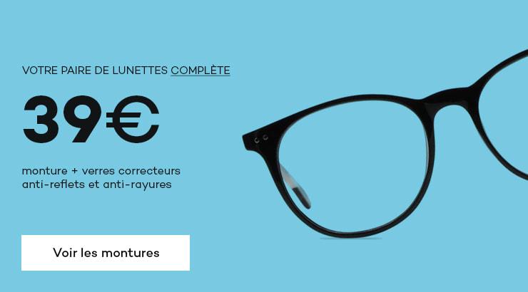 Opticien en ligne Direct Optic : lunettes en ligne pas cher