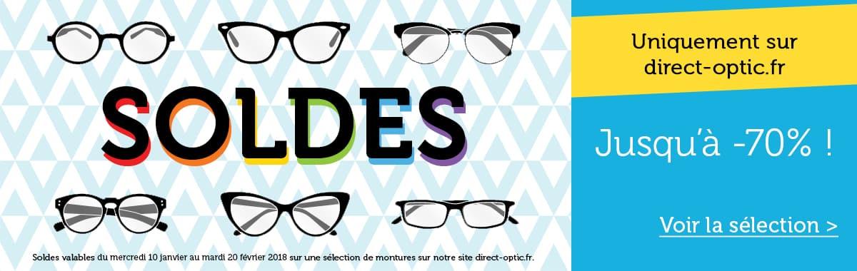 Soldes lunettes de vue et de soleil avec Direct Optic