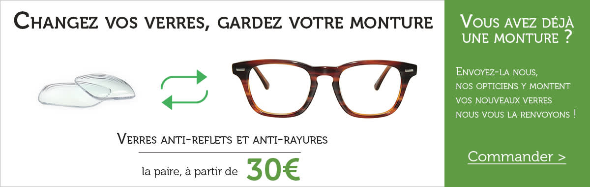 Opticien en ligne Direct Optic : lunettes