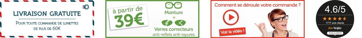 Les services proposés par Direct Optic, votre opticien sur internet