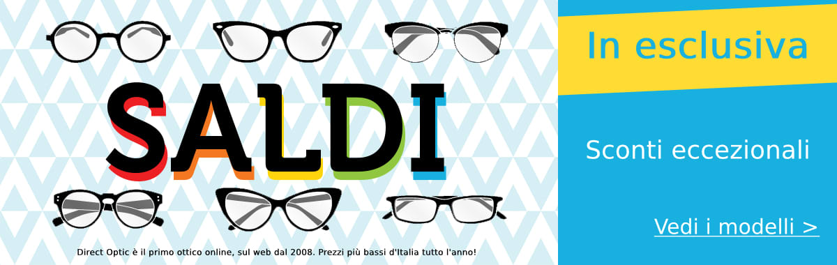 Montatura occhiali saldi