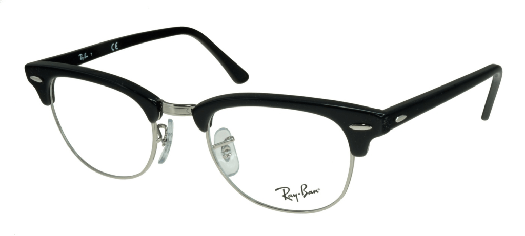 ray ban clubmaster homme vue