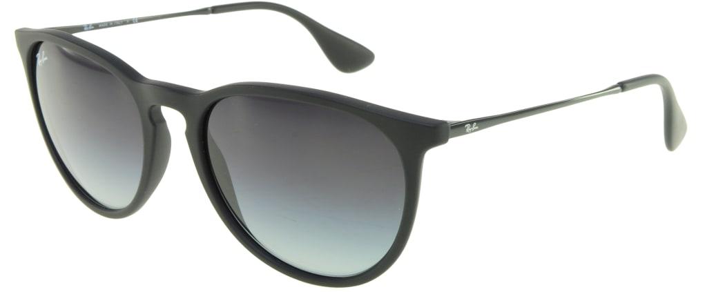 52dfe4df208 lunettes de soleil Ray-Ban Erika 4171 622 8G Noir Mat ...
