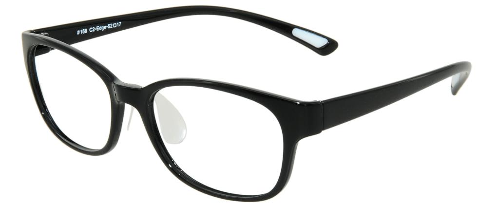 62b85be9c5 lunettes de vue Edge PlastiFlex Noir ...