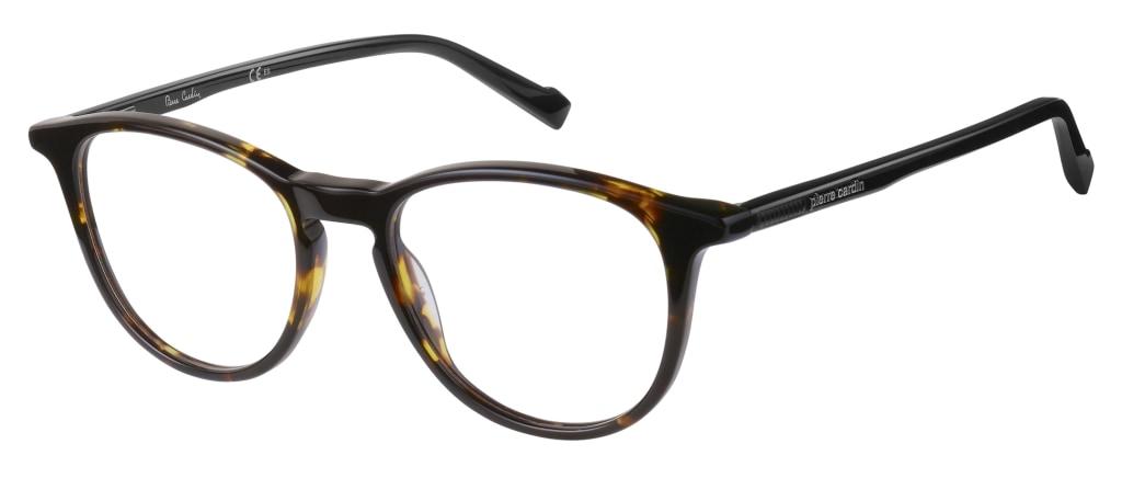 55bc40334dda5 lunettes de vue Pierre Cardin PC6206 086 Ecaille Foncé ...