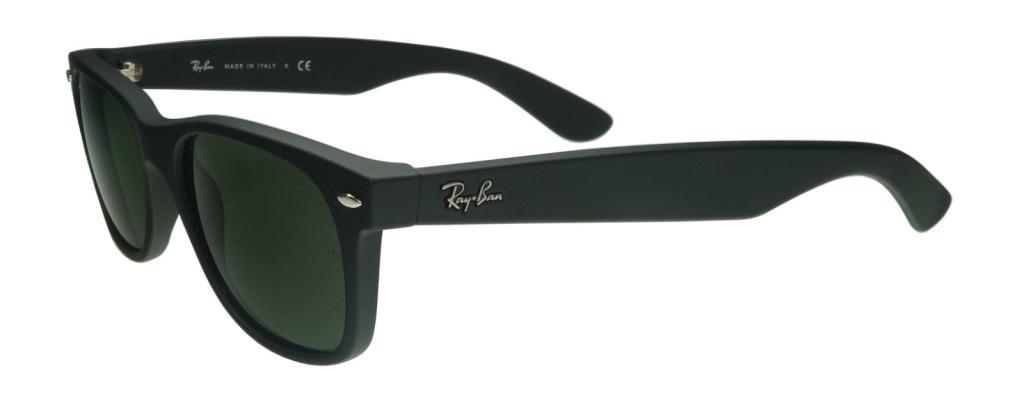 8de5b98e73687 ... lunettes de soleil Ray-Ban New Wayfarer 2132 622 Noir Mat ...