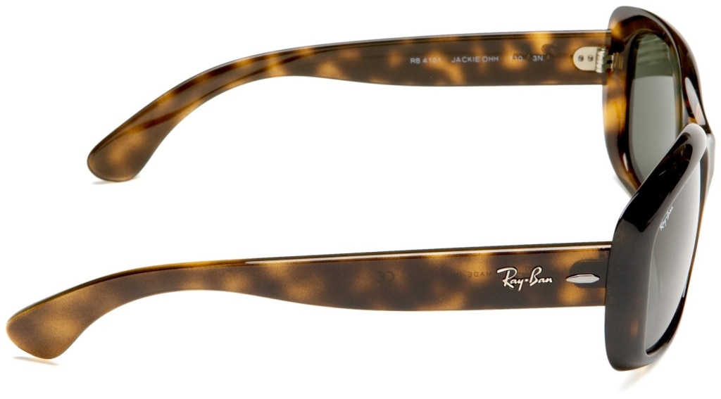 e92384f5d6 ... occhiali da sole Ray-Ban Jackie OHH 4101 710 Marrone Leopardato ...