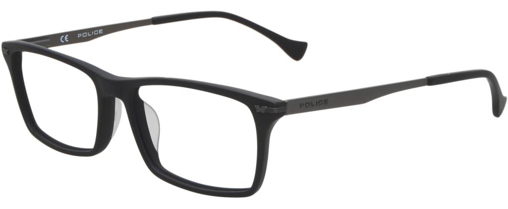 09f74ca7e8 lunettes de vue Police VPL054 Skill Up 2 0703 Noir Mat ...