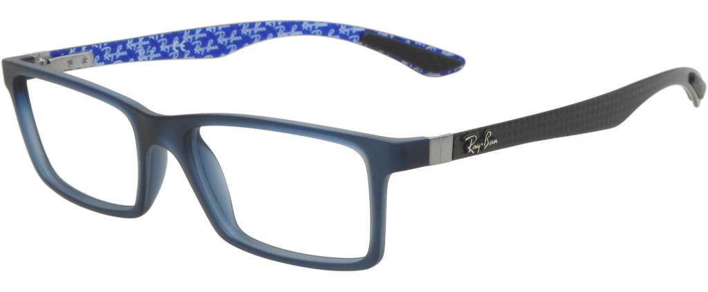 d8f3e3f609 lunettes de vue Ray-Ban 8901 5262 Noir Et Bleu ...