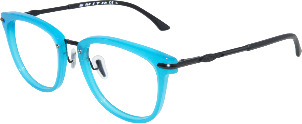 60e026e4c2c Monture Quinlan GR5 Bleu Turquoise Et Noir - Lunettes femme en ...