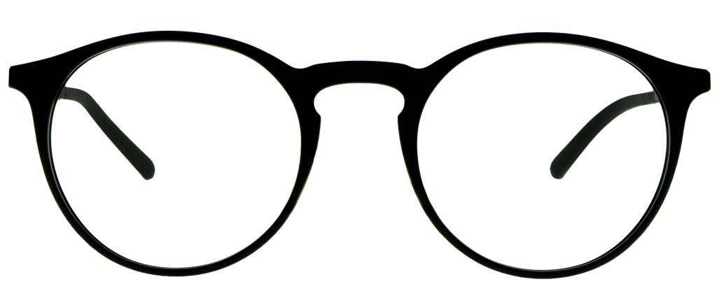 987c256a76 ... lunettes de vue PlastiFlex Clip-On Best Noir Mat ...