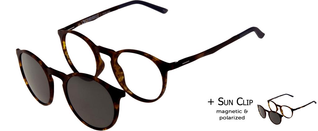 99f618722d lunettes de vue PlastiFlex Clip-On Best Ecaille Mat ...