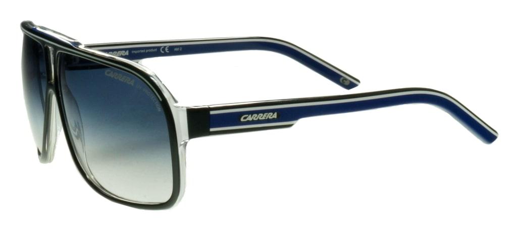 c12724b92f ... lunettes de soleil Carrera Grand Prix 2 T5C08 Noir Bleu ...
