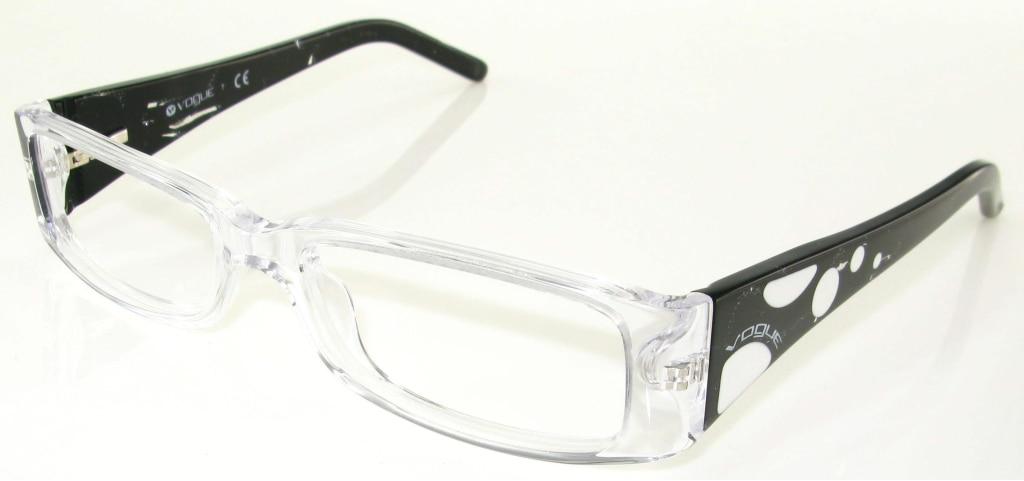 c2a58d9fc2 Vogue 2583 W745 Transparente Y Negro : comprar gafas al mejor precio