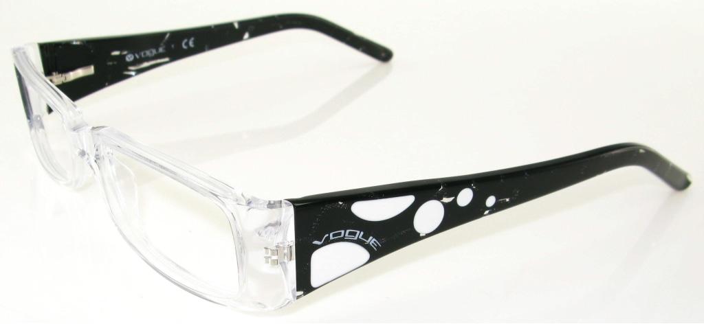 d92de977ff Vogue 2583 W745 Transparente Y Negro : comprar gafas al mejor precio