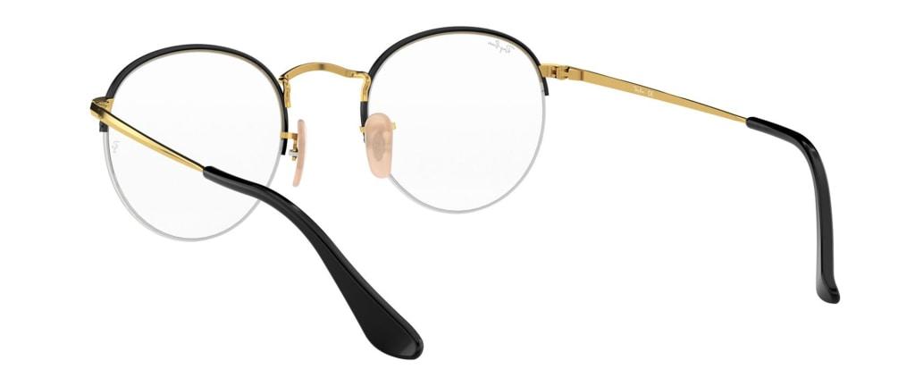 34ac295219c ... lunettes de vue Ray-Ban RX3947V 2946 Noir Et Doré ...