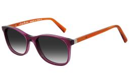 Délice Sun Púrpura y naranja transparante
