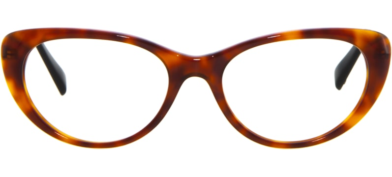 2587a81c8d ... gafas graduadas Viktor & Rolf 11 Carey Claro Y Dorado ...