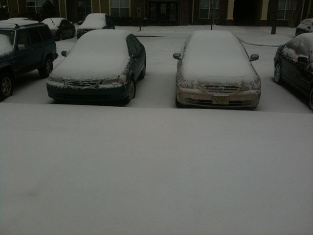 game jam snowed parking lot