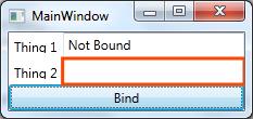 Bind Error