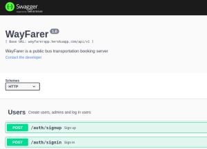 Wayfarer API