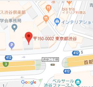 渋谷の地図