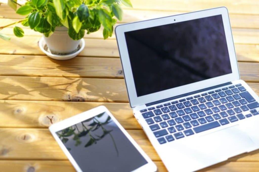 パソコンとタブレット