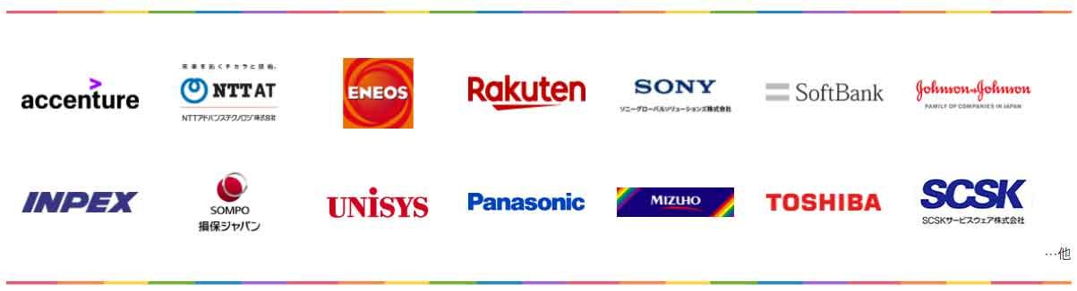 LGBTフレンドリーの企業