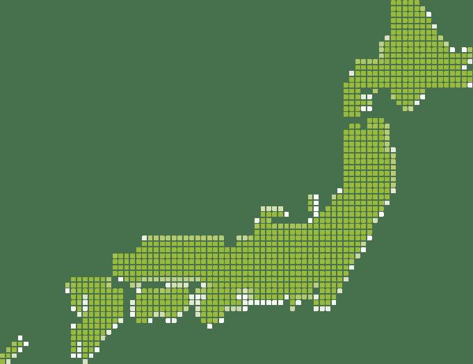 日本落地図