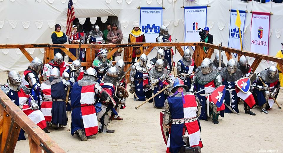 Historical Medieval Battle in USA