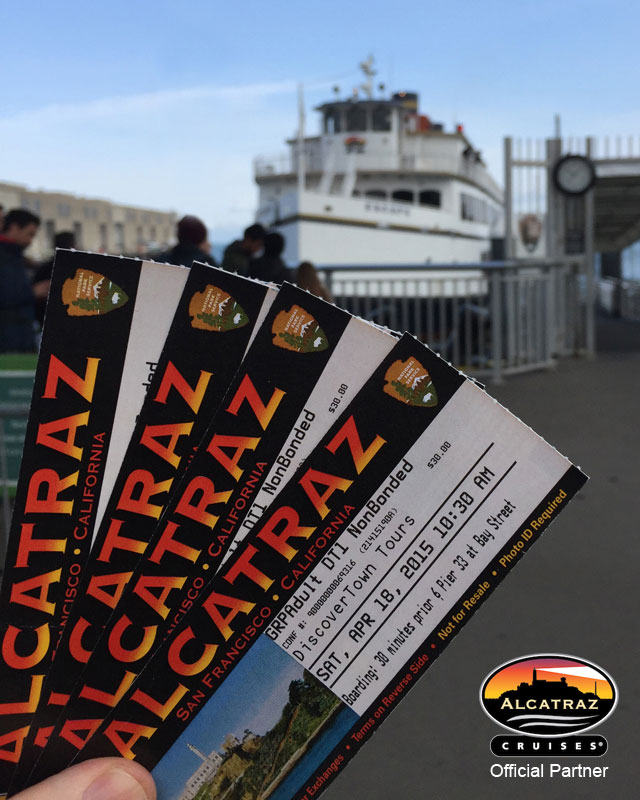DiscoverTown.com is an Authorized Reseller of Sold Out Alcatraz Cruises Tickets: Tour Packages including Alcatraz Night Tour
