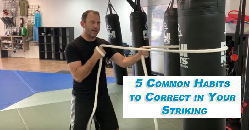 video: 5 common habits to fix in your striking