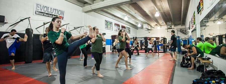 evolution mma miami fitness kickboxing