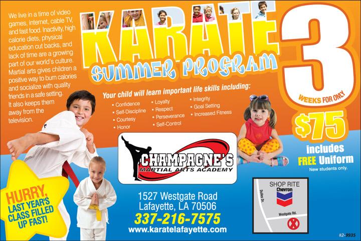 Kids Martial Arts Lafayette
