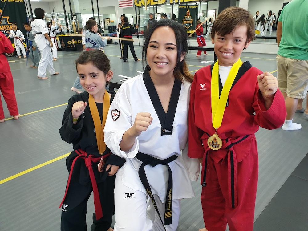 Taekwondo near Belmont